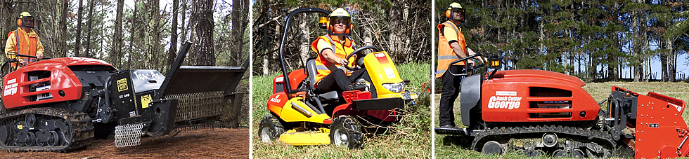 Scrub clearing land management services